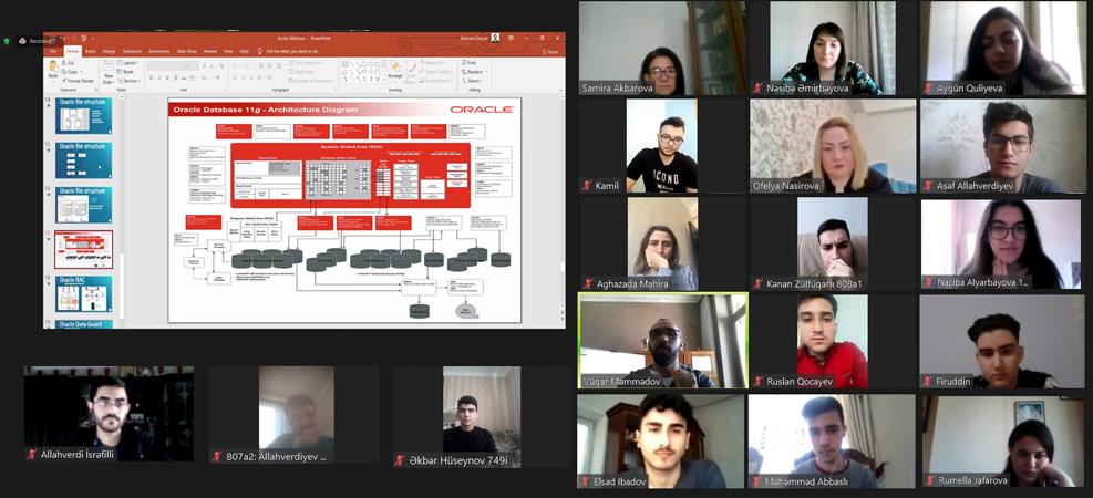 """AzMİU-da """"Startapın inkişafı"""" mövzusunda Bootcamp keçirilib"""